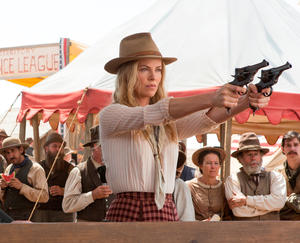 "Charlize Theron in ""A Million Ways To Die In The West."""