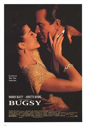 """Poster art for """"Bugsy."""""""