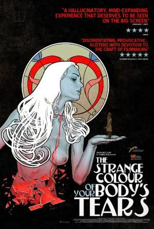 "Poster art for ""The Strange Colour of Your Body's Tears."""
