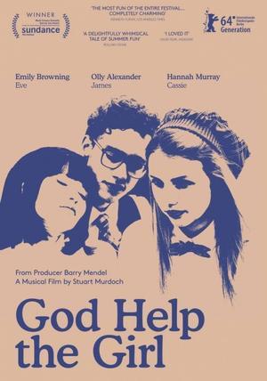 """Poster art for """"God Help The Girl."""""""