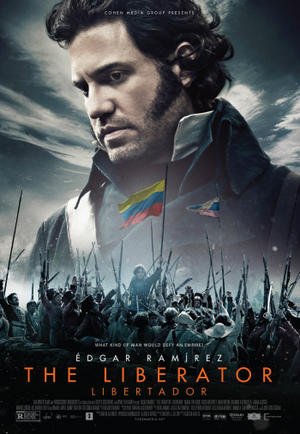 """Poster art for """"The Liberator."""""""