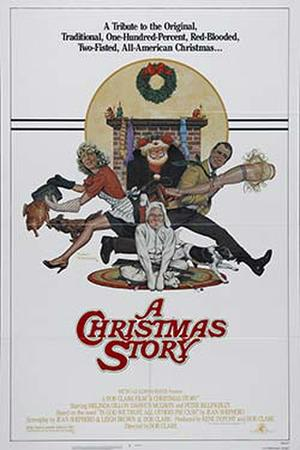 "Poster art for ""A Christmas Story."""