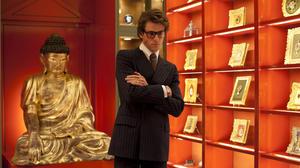 "Gaspard Ulliel as Yves Saint Laurent in ""Saint Laurent."""