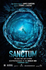 Sanctum: An IMAX 3D Experience showtimes and tickets