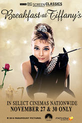 Breakfast at Tiffany's (1961) presented by TCM showtimes and tickets