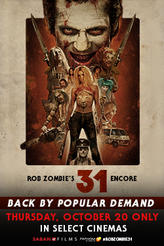 Rob Zombie's 31 showtimes and tickets