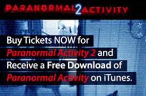 Buy a Ticket for 'Paranormal 2,' Get a Free Download Code for 'Paranormal 1'