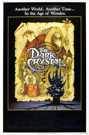 "Poster art for ""The Dark Crystal."""