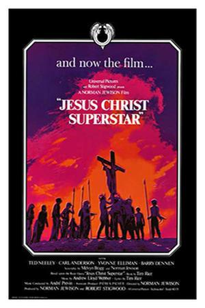 """Poster art for """"Jesus Christ Superstar."""""""