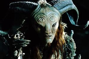 "The faun, Pan, in ""Pan's Labyrinth."""