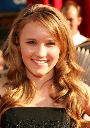 "Actress Emily Osment at the L.A. premiere of ""Ratatouille."""