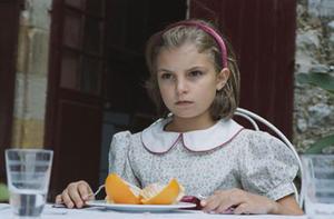 "Anna (Nina Kerval) scornfully disapproves in ""Blame it on Fidel!"""