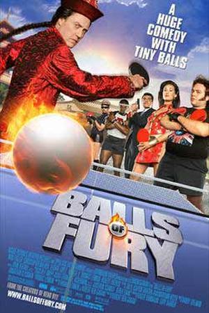 "Poster art for ""Balls of Fury."""