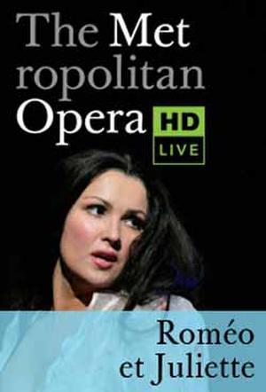 The Metropolitan Opera: Roméo et Juliette poster art.