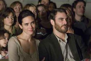 "Jennifer Connelly and Joaquin Phoenix in ""Reservation Road."""