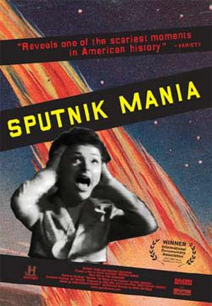 "Poster art for ""Sputnik Mania."""