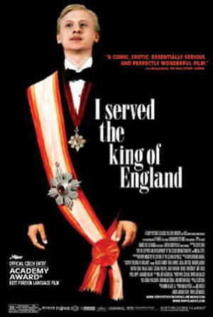 """Poster art for """"I Served the King of England."""""""
