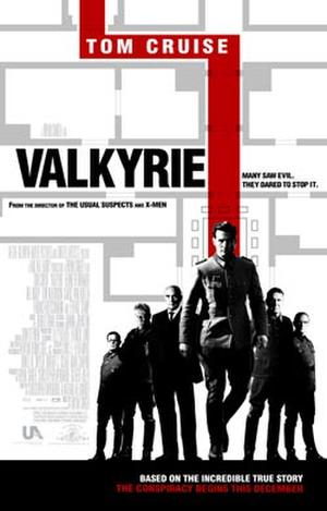 """Poster art for """"Valkyrie."""""""