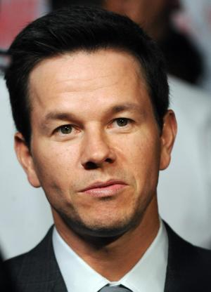"""Mark Wahlberg at the California premiere of """"Max Payne."""""""