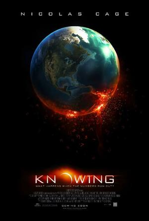 "Poster Art for ""Knowing."""