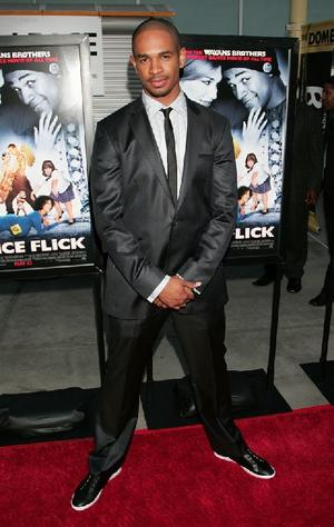 "Damon Wayans Jr. at the California premiere of ""Dance Flick."""