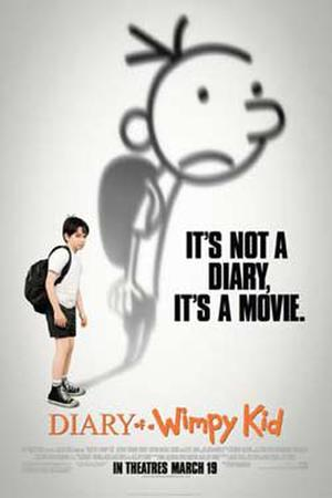 "Poster art for ""Diary of a Wimpy Kid."""
