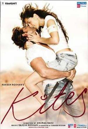 """Poster art for """"Kites."""""""