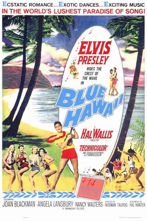 "Poster art for ""Blue Hawaii"""