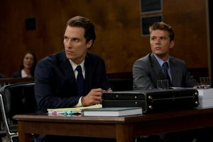 "Matthew McConaughey as Mickey Haller and Ryan Phillippe as Louis Roulet in ""The Lincoln Lawyer."""