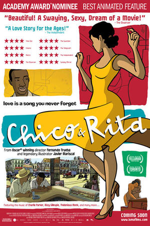 "Poster art for ""Chico & Rita."""