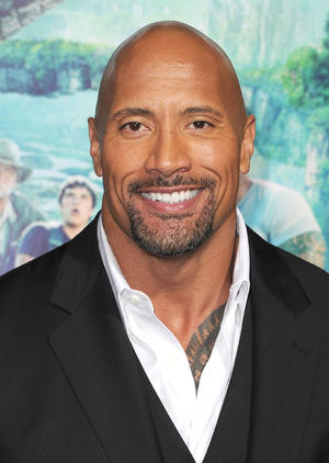 """Dwayne Johnson at the California premiere of """"Journey 2: The Mysterious Island."""""""