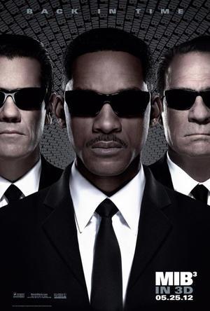 "Poster art for ""Men in Black III."""