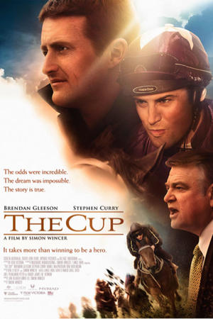 "Poster art for ""The Cup."""