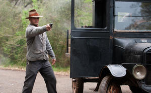 "Tom Hardy in ""Lawless."""