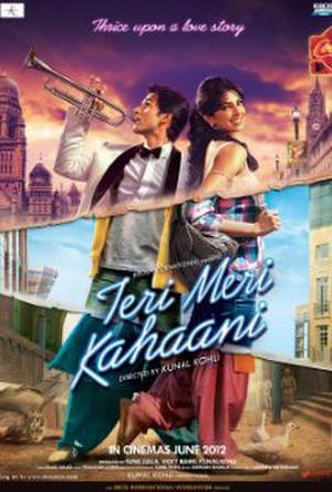 """Poster art for """"Teri Meri Kahaani."""""""