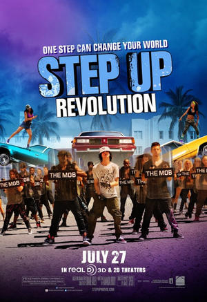 "Poster art for ""Step Up Revolution: 3D."""
