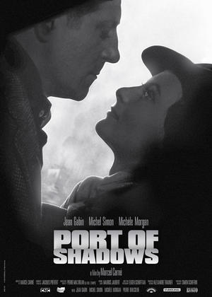 "Poster art for ""Port of Shadows."""