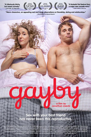 "Poster art for ""Gayby."""