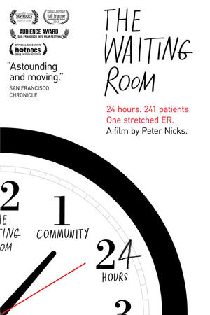 "Poster art for ""The Waiting Room."""