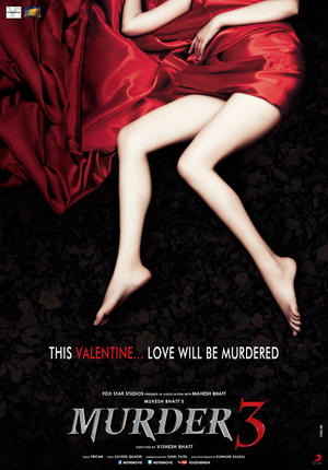 "Poster art for ""Murder 3."""