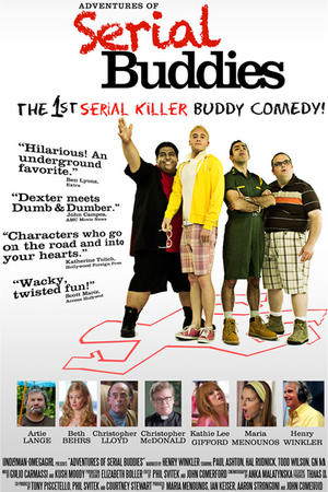 """Poster art for """"Adventures of Serial Buddies."""""""