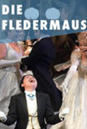 "Poster art for ""Die Fledermaus."""