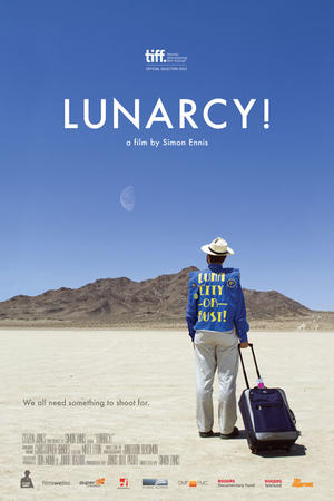 "Poster art for ""Lunarcy!"""