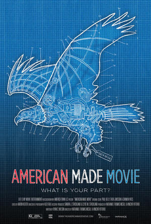 "Poster art for ""American Made Movie."""