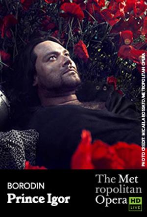 "Poster art for ""The Metropolitan Opera: Prince Igor."""