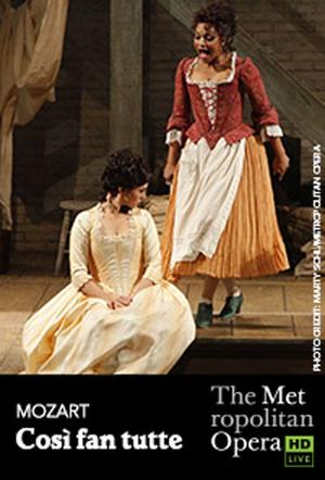 "Poster art for ""The Metropolitan Opera: Così fan tutte."""