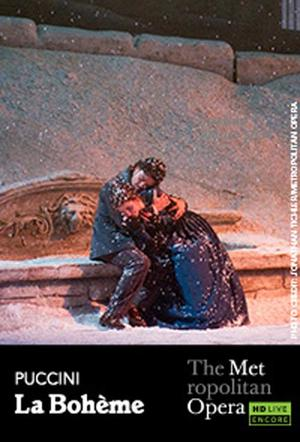 "Poster art for ""The Metropolitan Opera: La Boheme - Encore."""