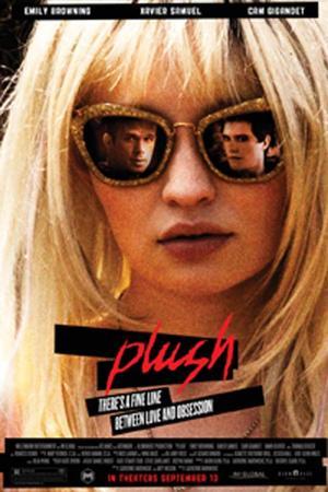 """Poster art for """"Plush."""""""