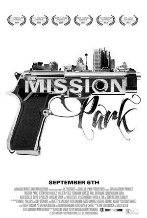 "Poster art for ""Mission Park."""