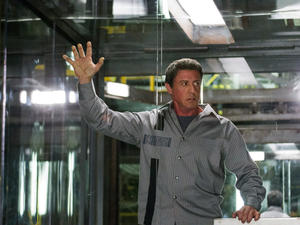 "Sylvester Stallone in ""Escape Plan."""
